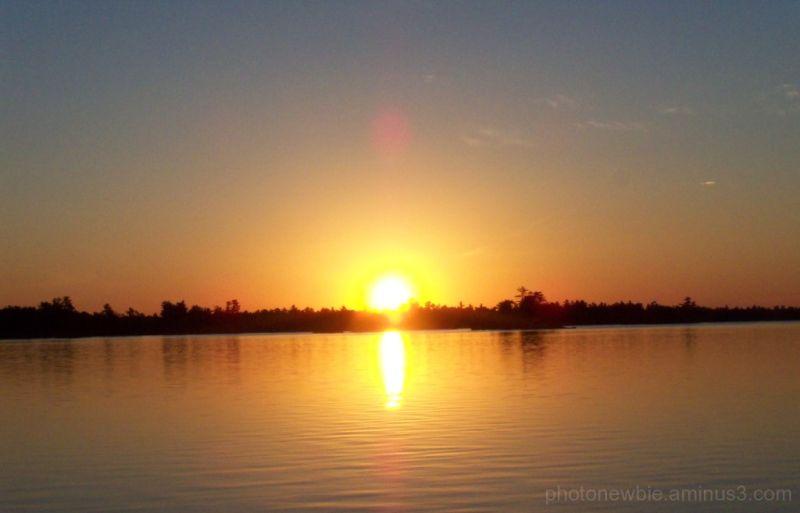 Canadian Sunrise on Buckhorn Lake