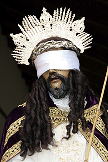 Blindfolded Christ, Nicaragua