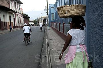 street corner, Grenada, Nicaragua