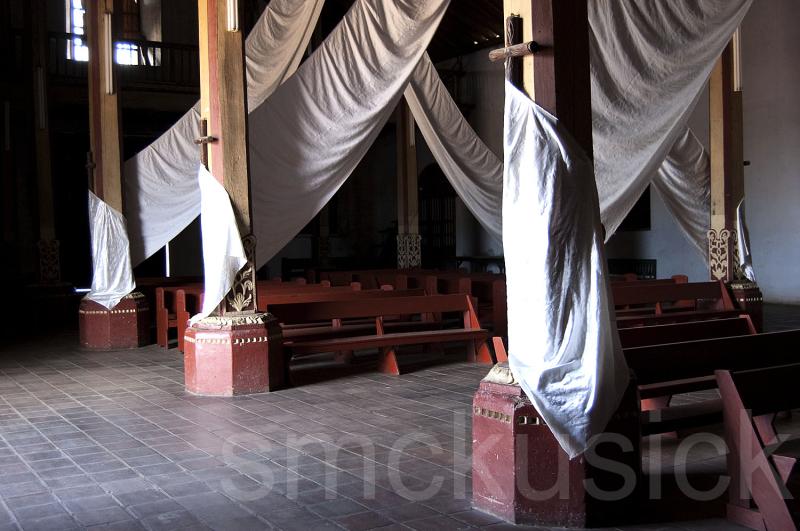 church iglesia interior nicaragua