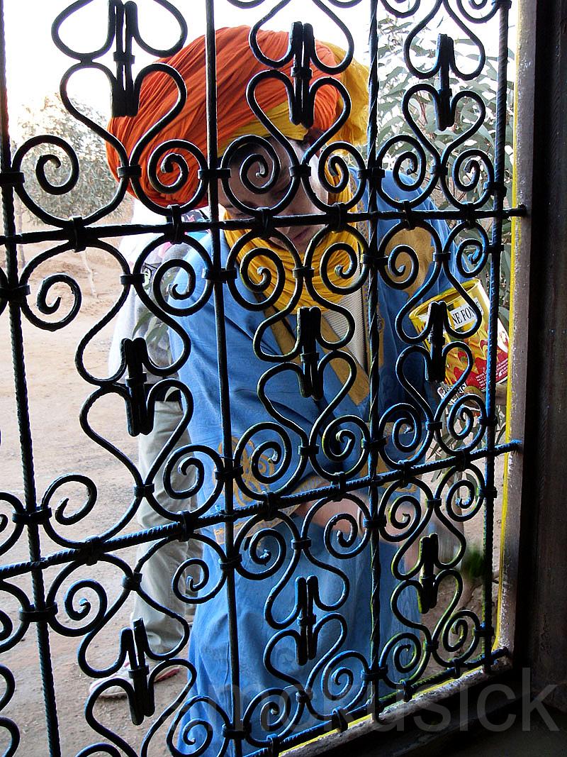 wrought iron window morocco