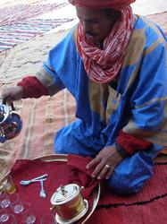 tea time morocco