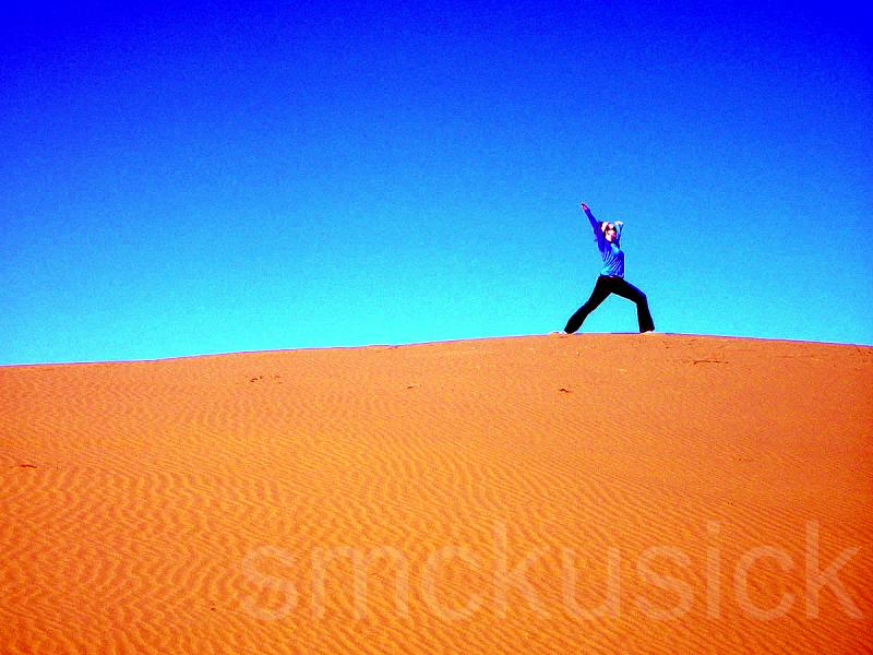 yoga dunes morocco