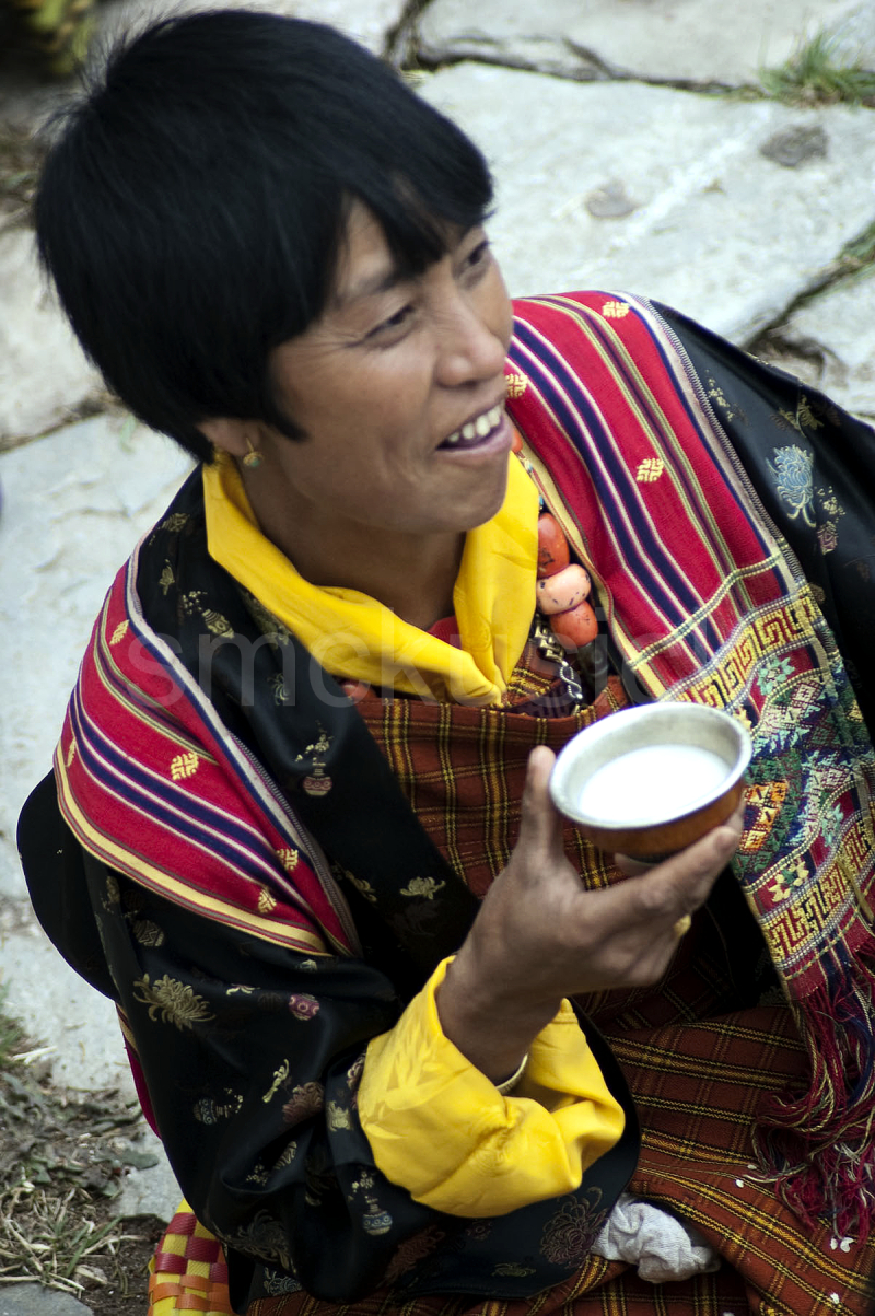 portrait bhutanese