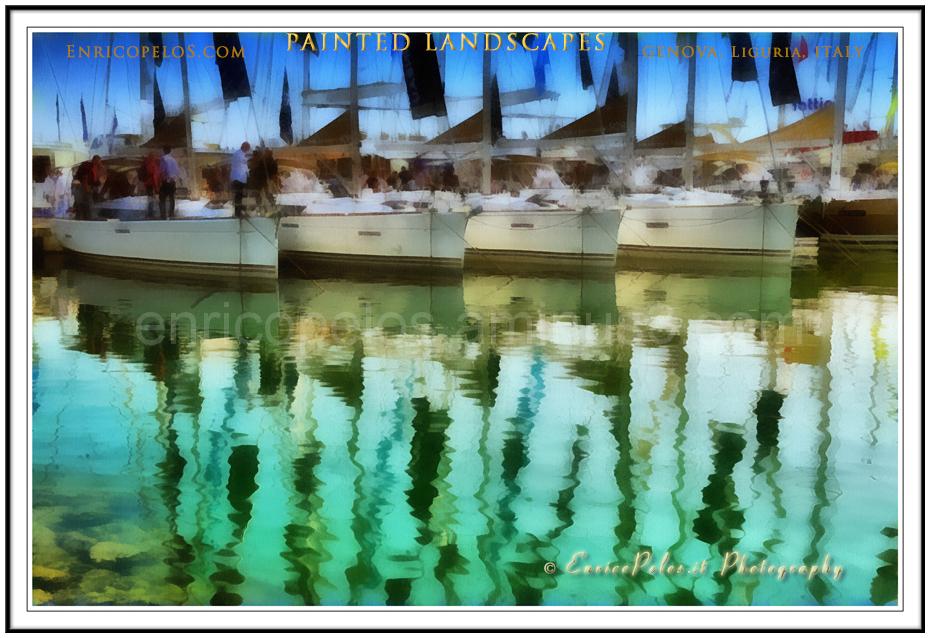 Genoa Boat show sailing boats