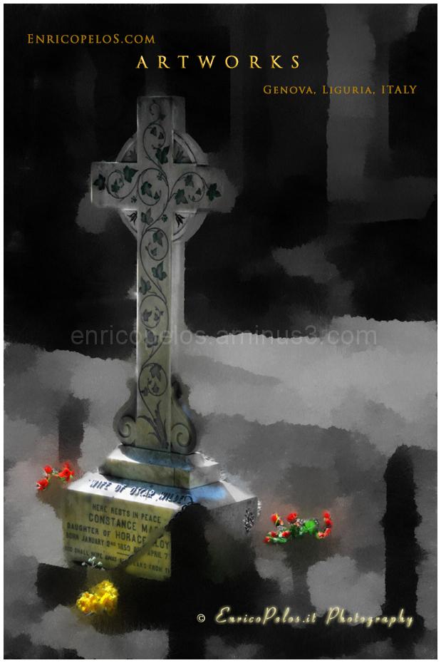 STAGLIENO Cemetery - Tomba Constance Wilde