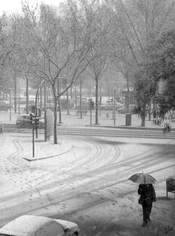 It´s snowing