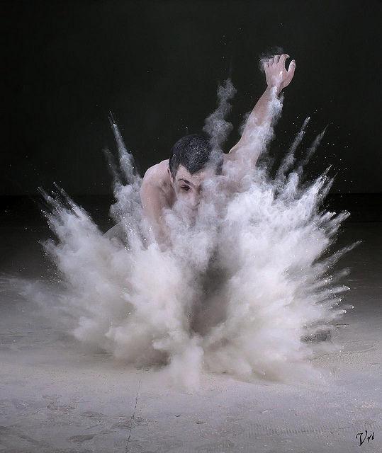 Dust explosion