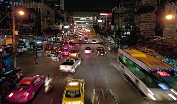 Night mood in Bangkok