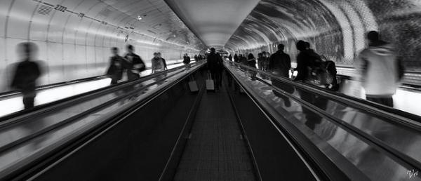 Montparnasse tube