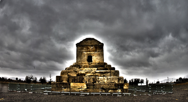 The tomb of Cyrus the Great one of the remains at