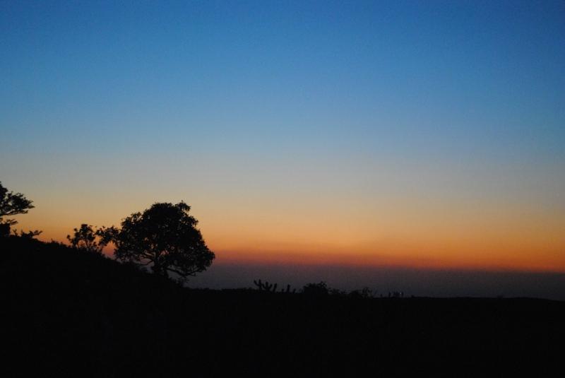 SUNSET AT KOKAN KADA, HARISHCHANDRA GAD