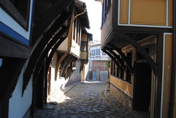 Plovdiv Bulgeria Old Town