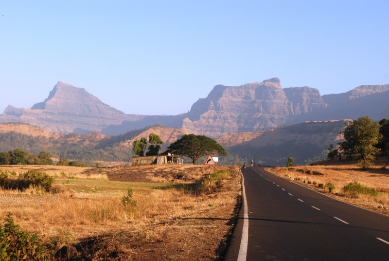 Way to Malshej Ghat