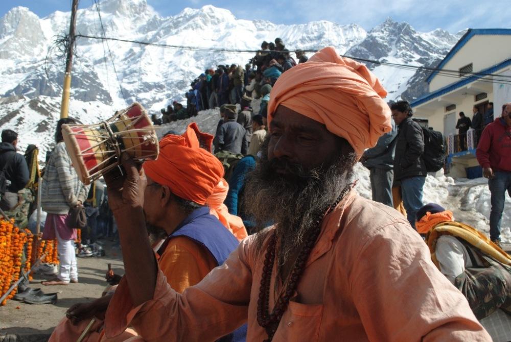 Sadhu at Kedarnath