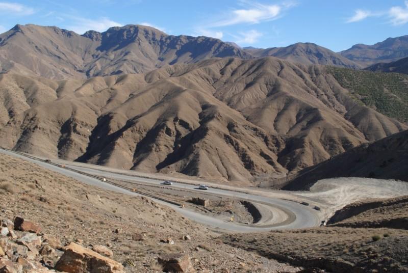 On The way to Sahara Morocco