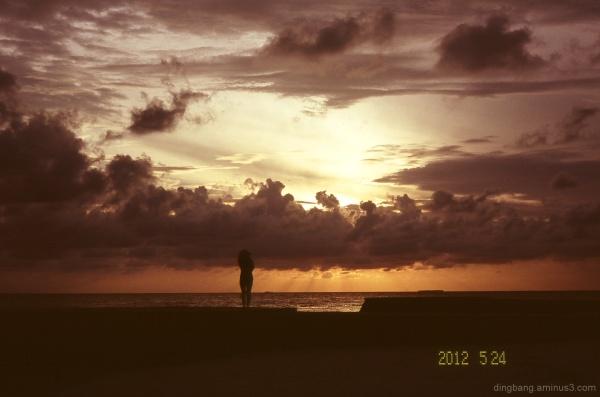 Maldive sunrise