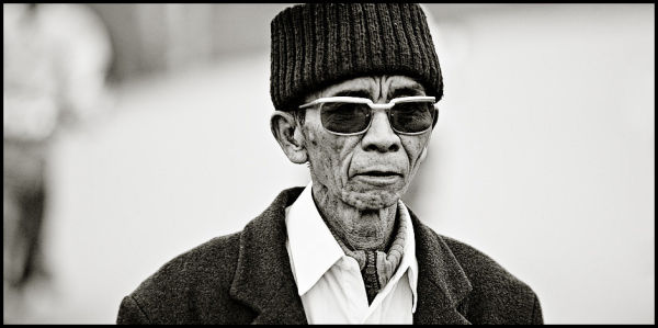 vietnamese man portrait