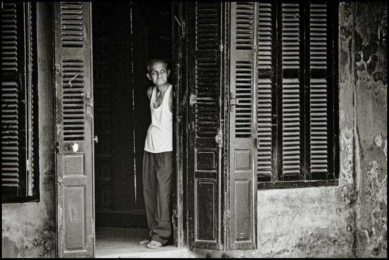 portrait of a vietnamese man