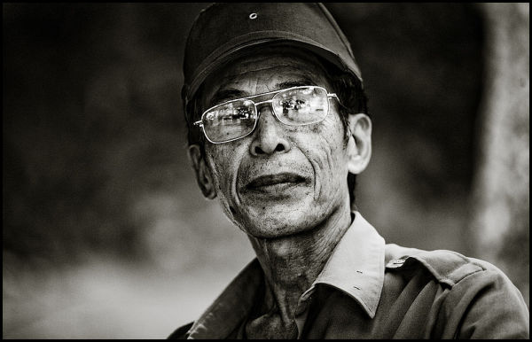 portrait of a vietnamese man