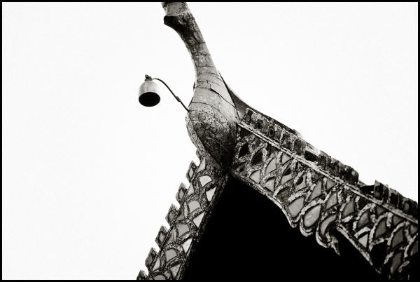 Details of a thai temple / pagoda