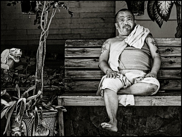 portrait of a thai monk