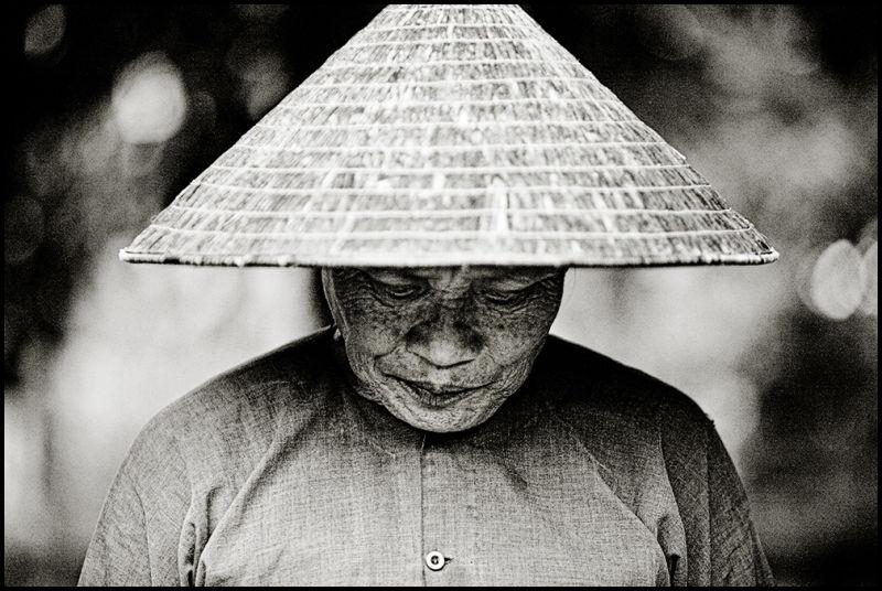 portrait of a vietnamese monk subsignal