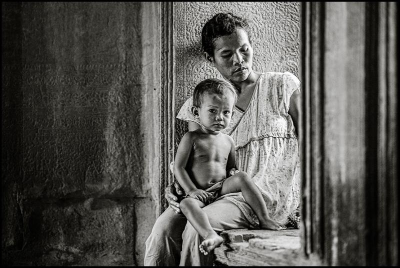 homeless in Angkor Wat