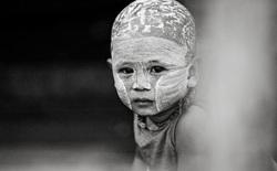 Kid, Yangon, Burma