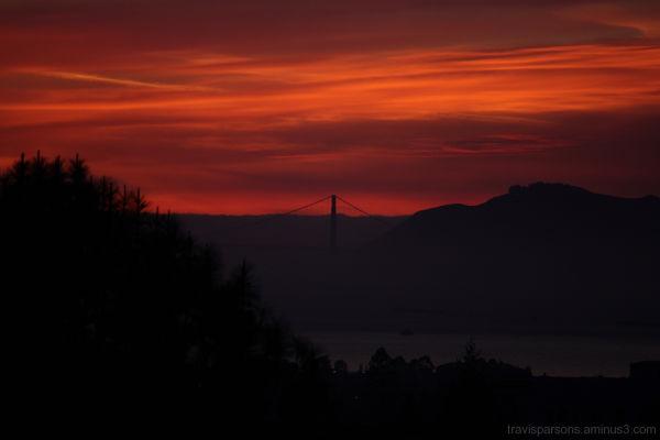 Berkelian Sunset