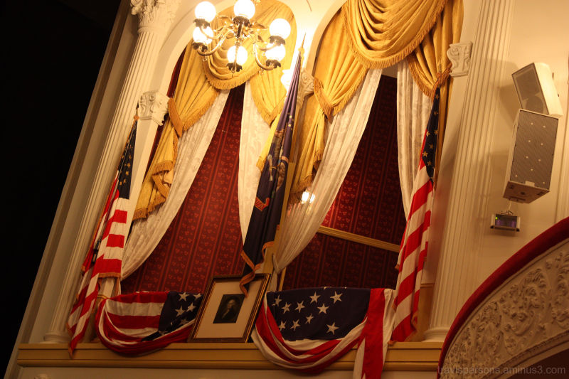 Fords theater Lincoln shot