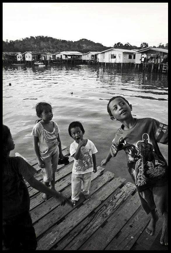 Bajau Village - spiderboy