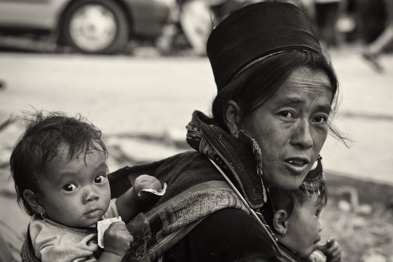 sapa women and children