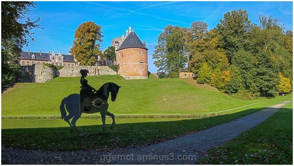 Art at the Castle of Gaasbeek