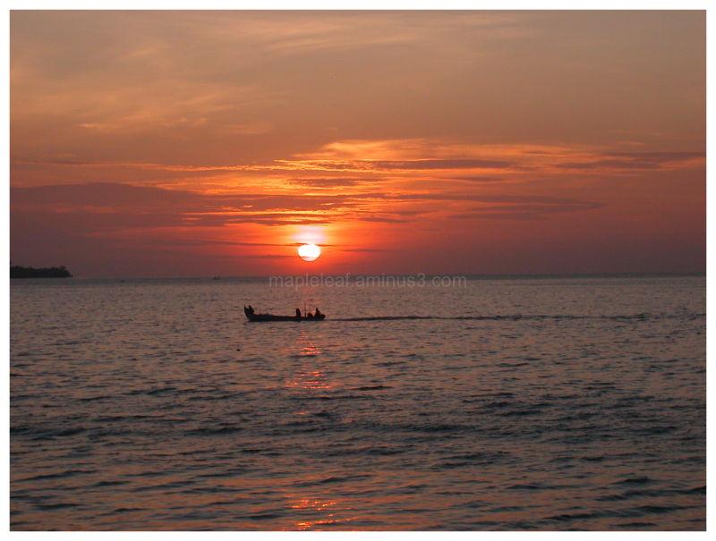 Sunset @ Jimbaran Bay