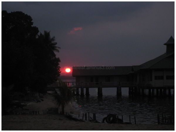 sunset @ galley