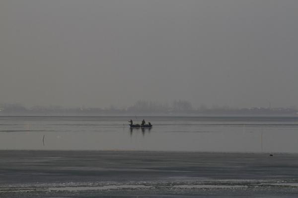 ماهیگیر و دریا