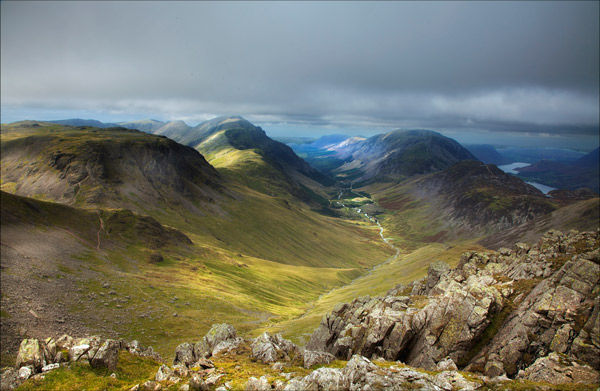 Approaching Great Gable