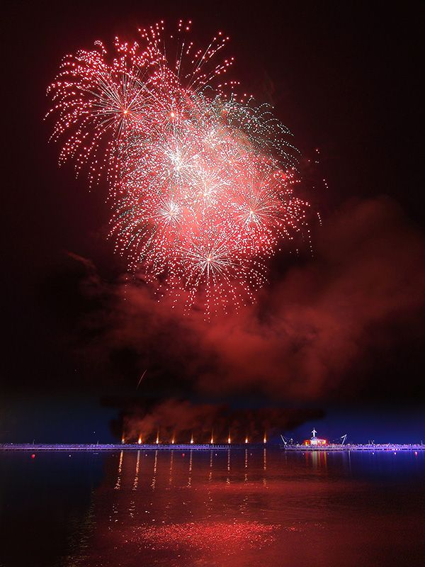 fireworks, ancol