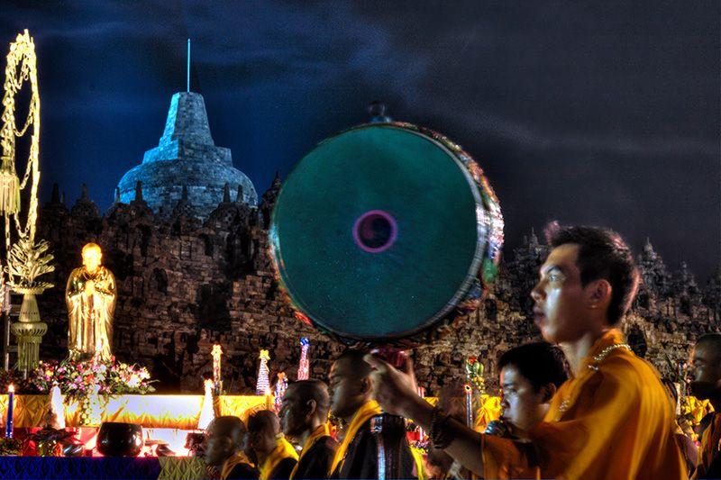 Waisak, ceremony, Borobudur Temple