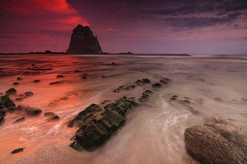 Papuma Cape, Tanjung Papuma, Indonesia