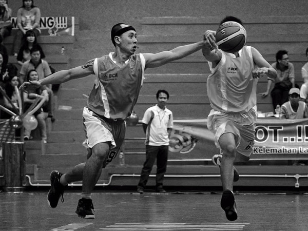 55th anniversary of Bank Central Asia, basketball