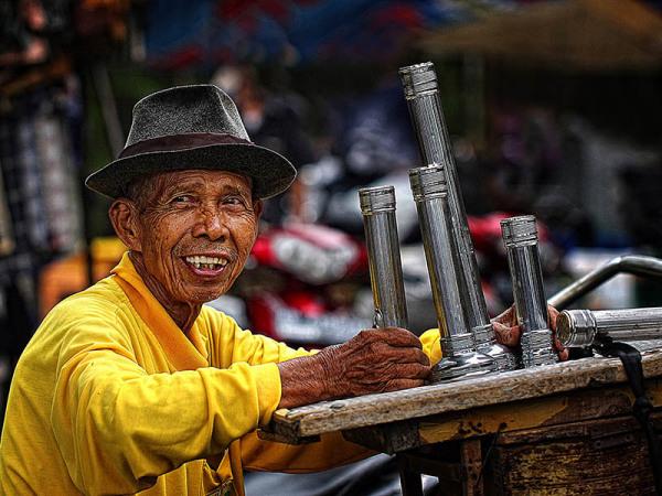 Flashlight, Gawok Market, Pasar Gawok