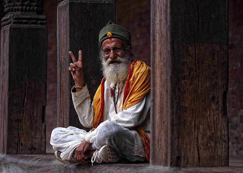 Durbar Square, Nepal, Peace