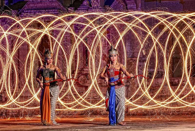 fire dance, conceptual photograph, rumah puspo