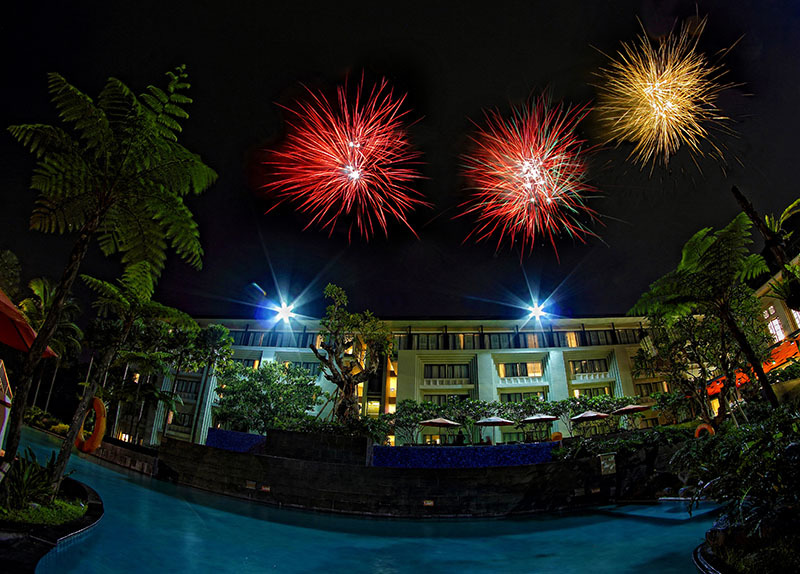 Happy New Year 2015, Harris Hotel, Malang, East Ja