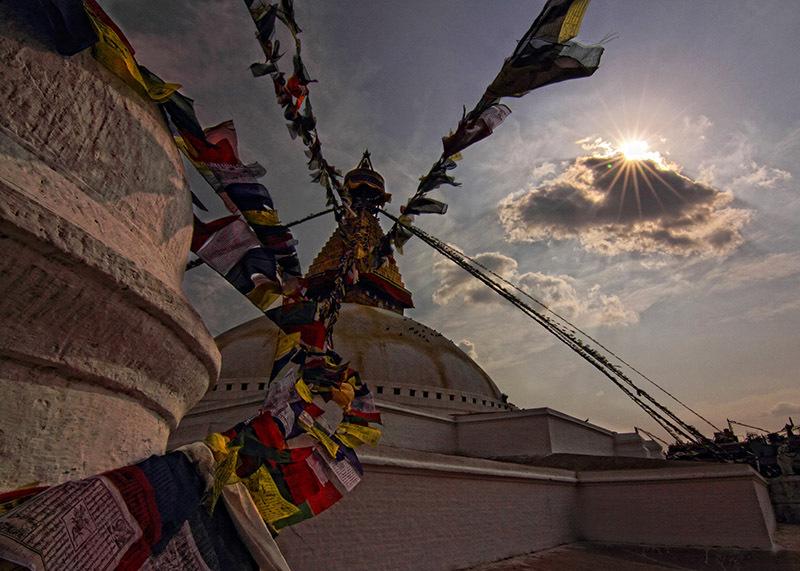 The Boudhanath Stupa, Nepal