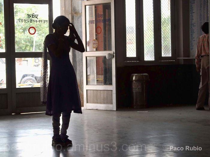 Sombras en la estación