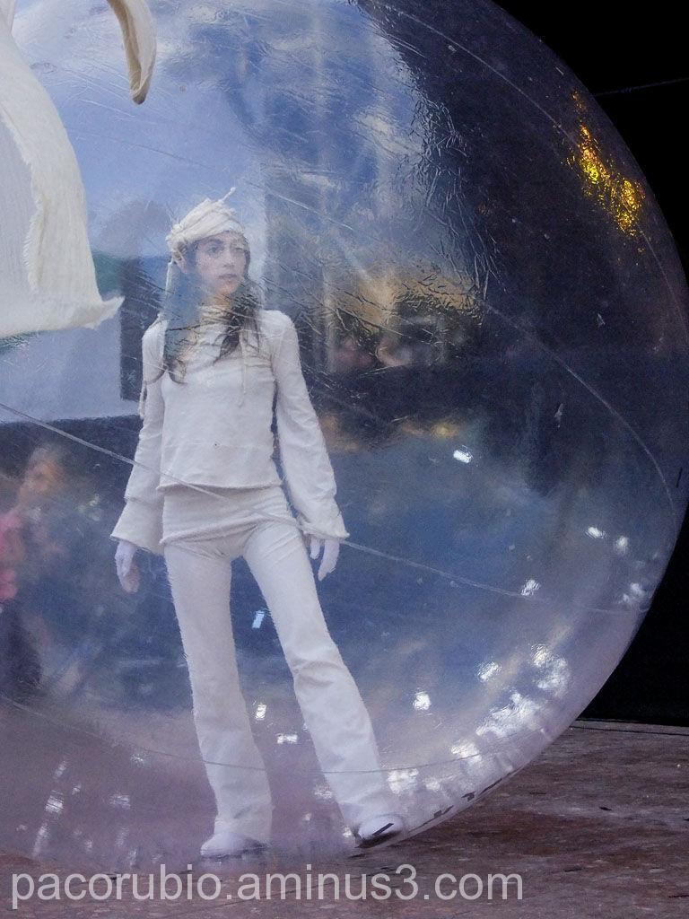 Entra en mi burbuja