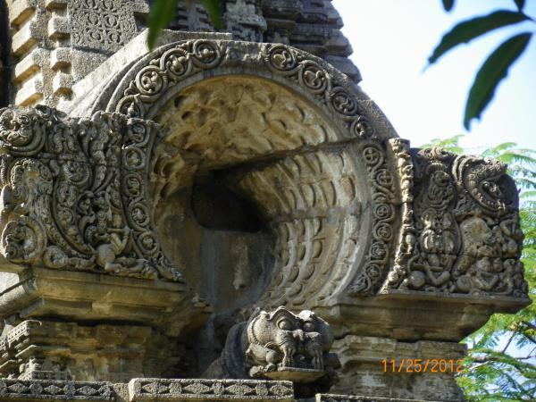 Upper Portion Of Mandir
